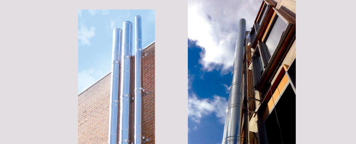 conduits de tubage - Concept Chaleur Brasseur sprl